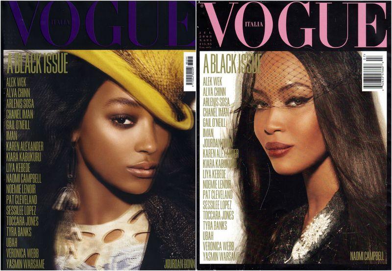 Vogue Italia Black Issue July 2008