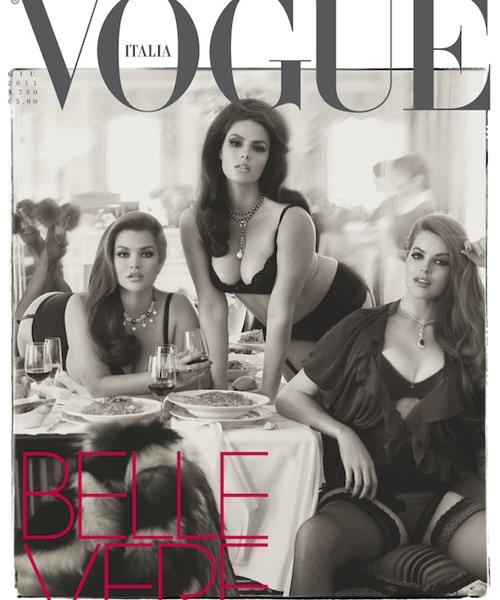 Vogue Italia June 2011 Curvy Issue