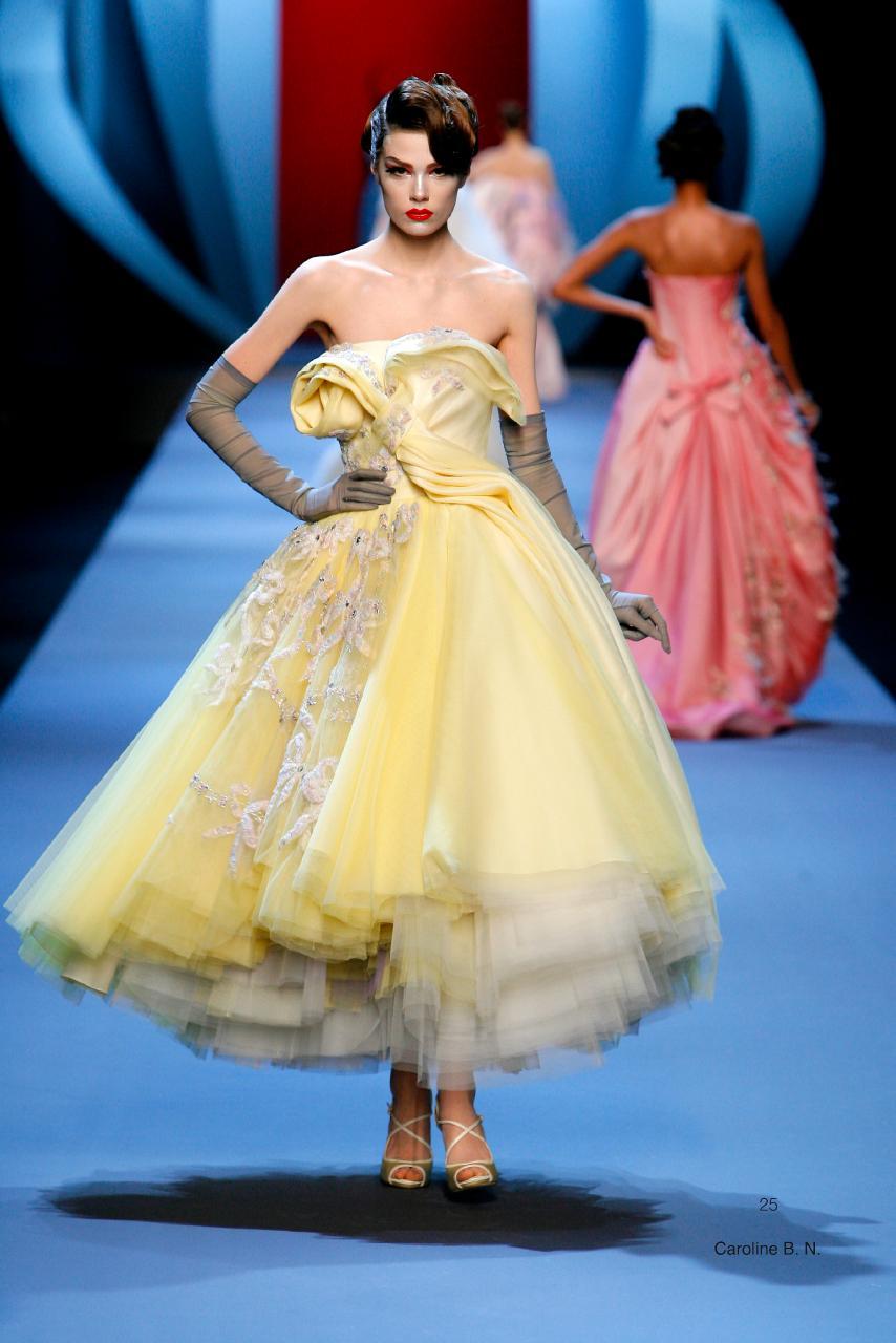 d8d3d6373e Christian Dior, Paris (fashion house) John Galliano (designer)  spring−summer 2011 haute couture collection Photo © Guy Marineau