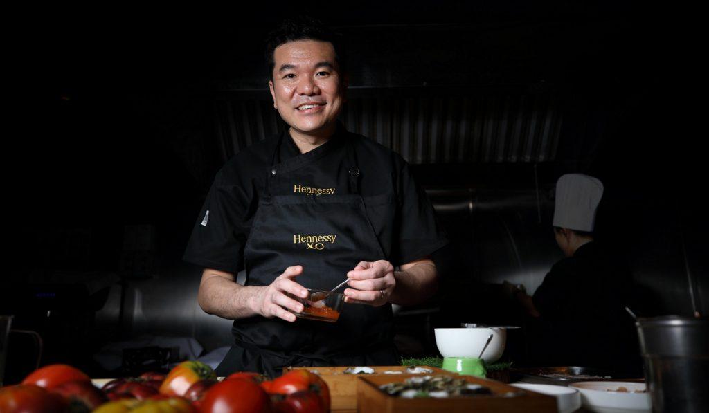 Chef Darren Chin creates a multi-sensory cognac experience for Hennessy XO Odyssey