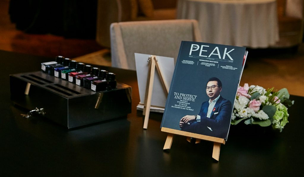 The Peak x Montblanc Malaysia: Mightier Than The Sword