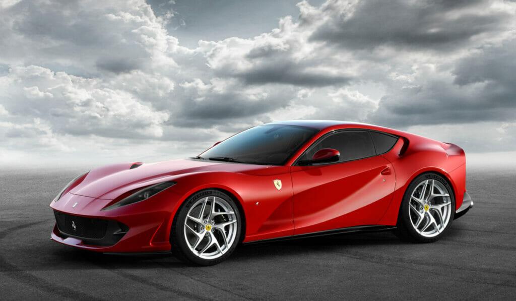 The New Ferrari 812 Superfast is, super fast
