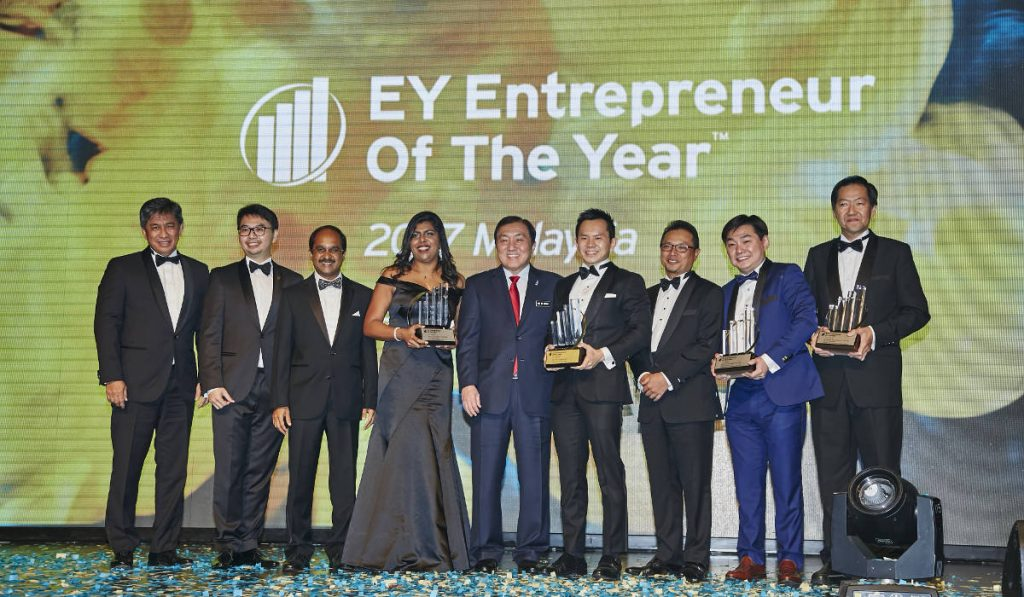And the winner of the EY Entrepreneur Of The Year 2017 Malaysia award is...