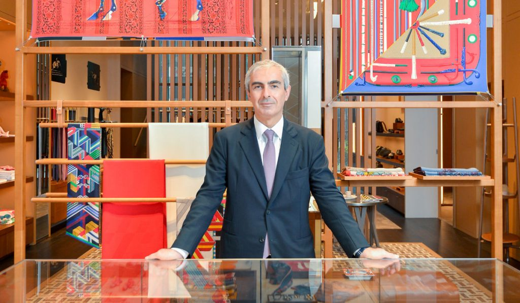 Find out all about the metamorphosis of Hermès as told by the brand's regional Managing Director