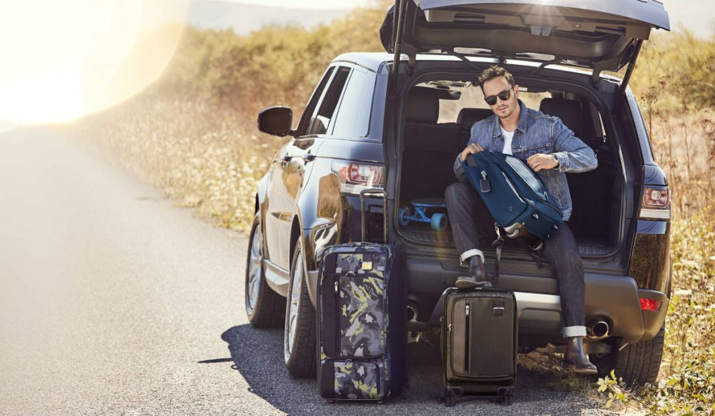 Travel To The Sunny Beaches Of California With Tumi's Spring 2018 Collection