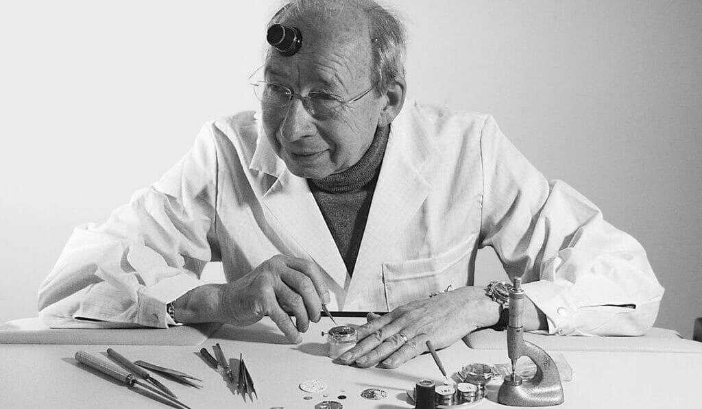 Legendary IWC watchmaker Kurt Klaus might be 83, but he's a millennial at heart