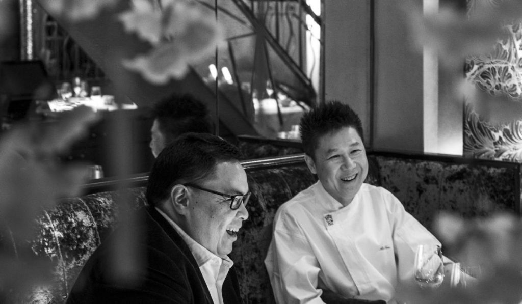 Celebrating 10 years of holding a Michelin Star, We Sit Down With The Malaysian Owner Of Kai Mayfair, Bernard Yeoh, And Its Head Chef Alex Chow