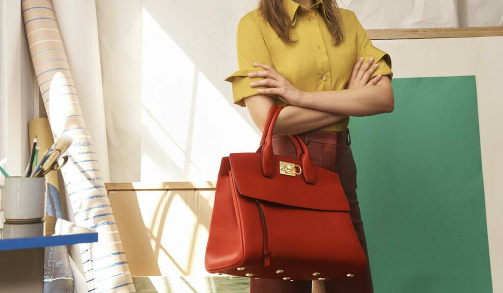 Salvatore Ferragamo unveils a the new Studio Bag for the new generation