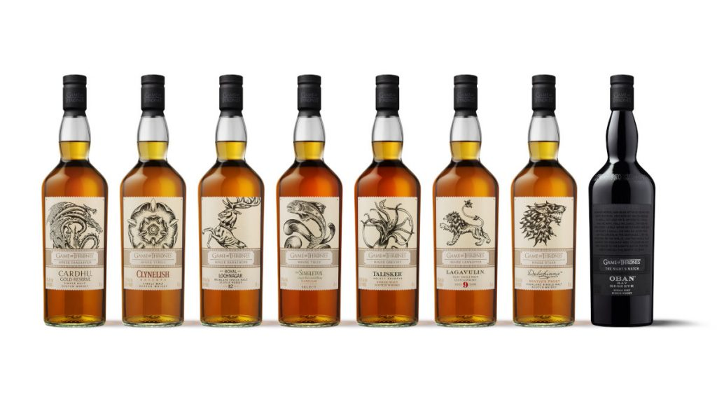 Toast the final season of Game of Thrones with this Single Malt Whisky Collection