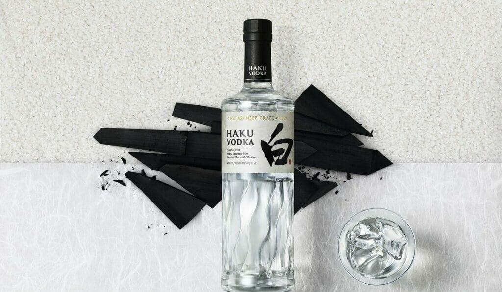 Suntory has created a vodka using premium Japanese rice