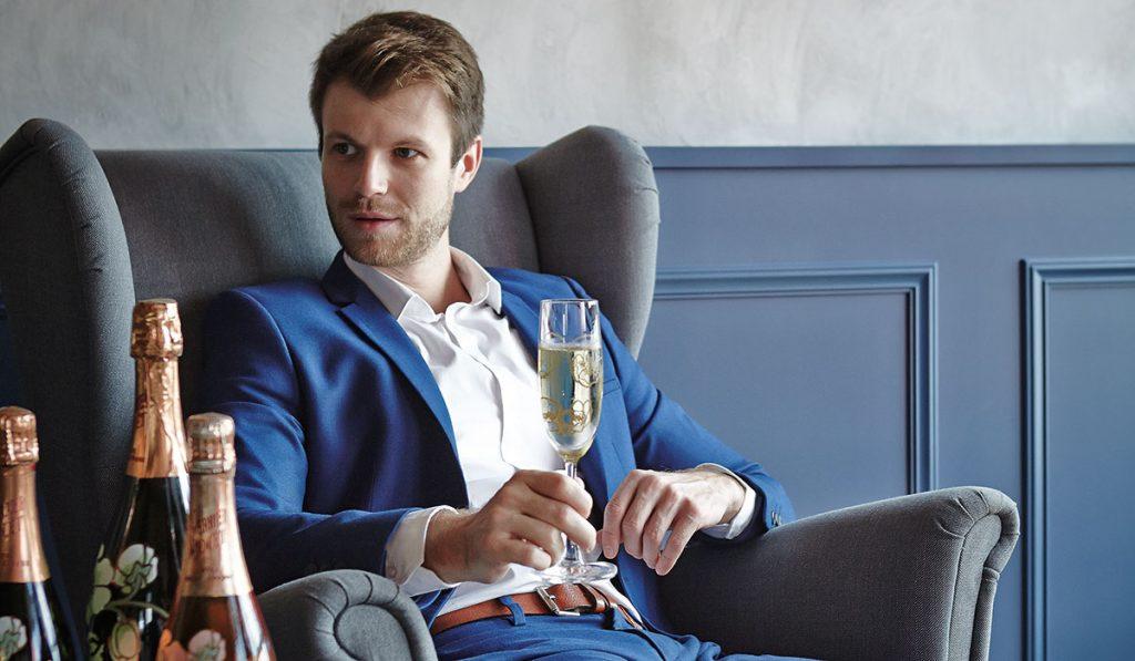 Perrier-Jouët Brand Ambassador Jean-Baptiste Gourvil talks champagne