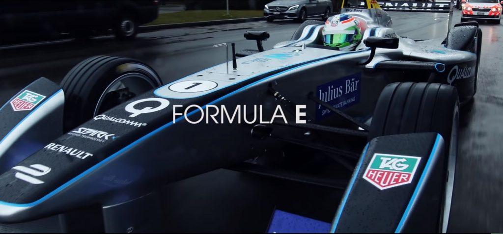 TAG Heuer Teams Up With Porsche as Formula E Partner