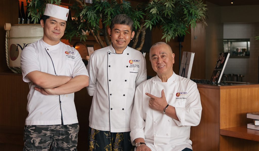 Chef Nobu Matsuhisa Talks About Cooking From The Heart