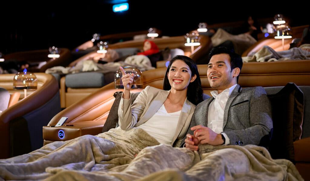 Enjoy An Unforgettable Movie Experience This Valentine's Day At GSC's New Aurum Theatre