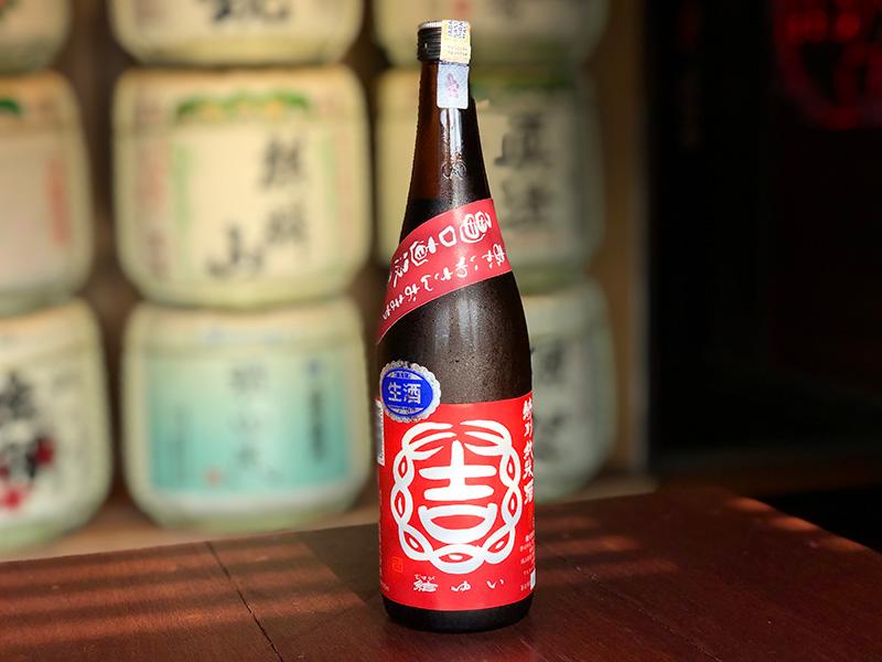 Musubiyui Akaiwasan Omachi Sake