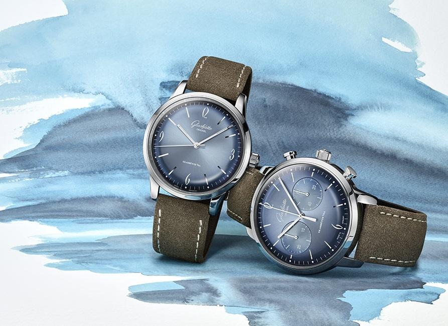 Glashütte Original Gives Classic A Cool Glacier Blue Look