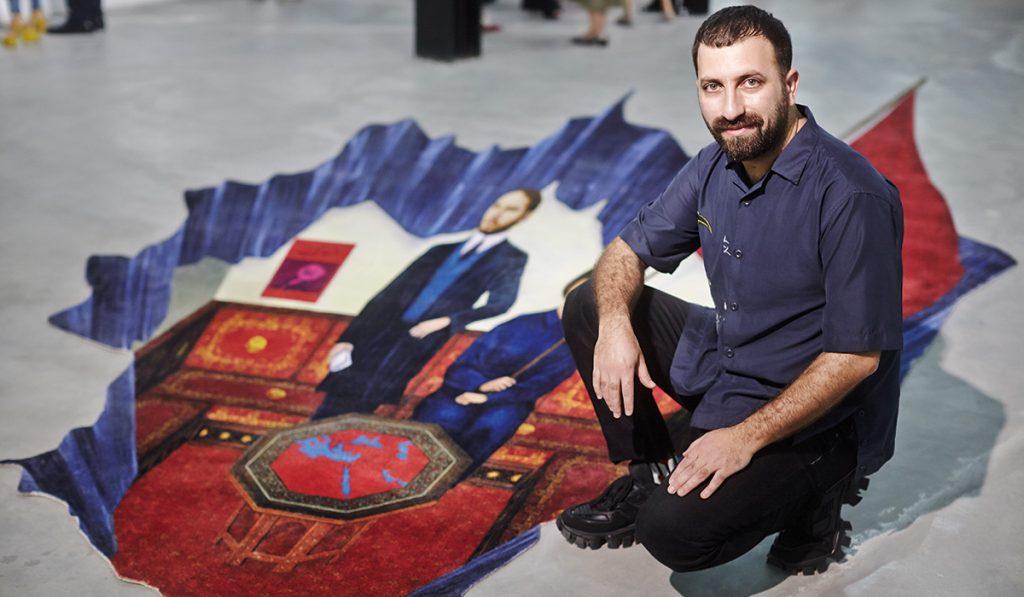 Turkish-Kurd Artist Ahmet Ogut Illustrates History Through Art