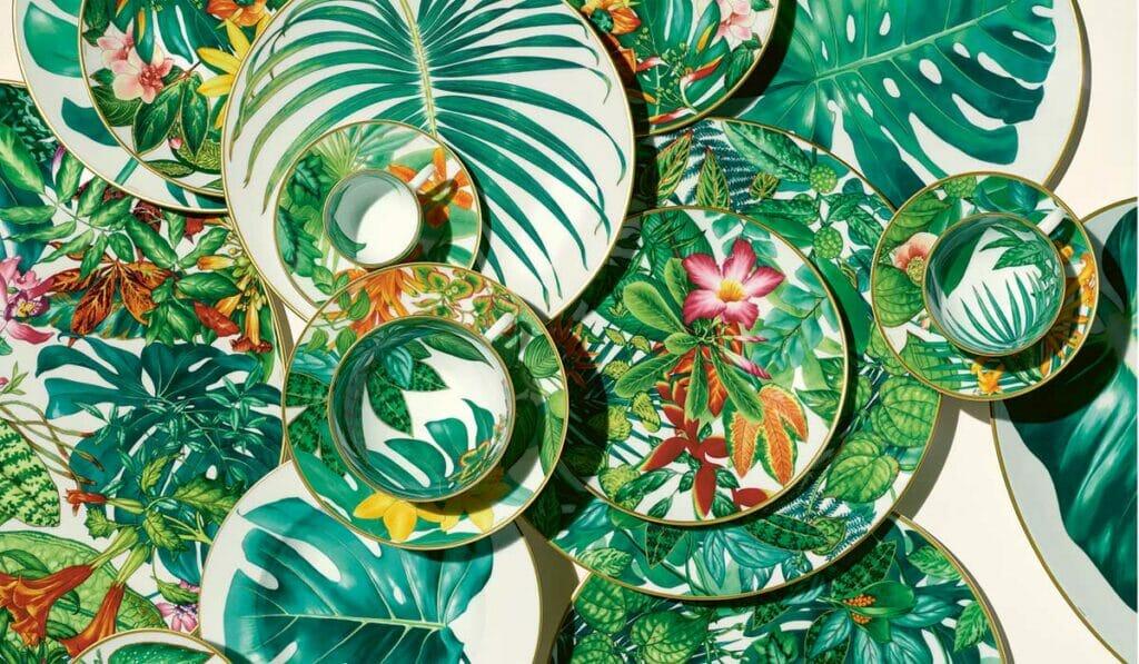 Hermès' Passifolia Collection: Tableware To Treasure