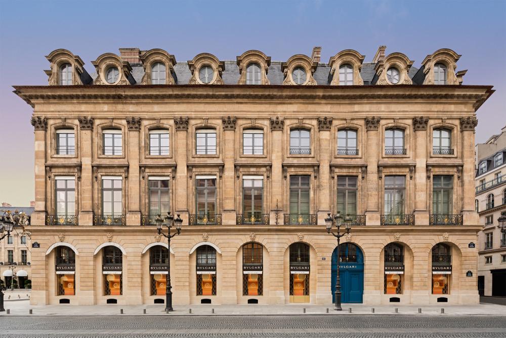 Bvlgari Reveals Redesigned Boutique at Place Vendôme, Paris